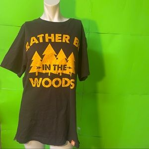 Legendary Whitetails Tee Rather Be in the Woods M